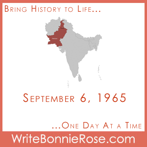 Timeline Worksheet September 6, 1965, Pakistan