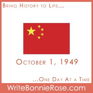 Timeline Worksheet, October 1, 1949, China