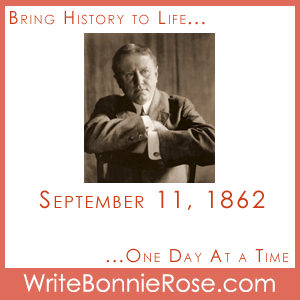 Timeline Worksheet: September 11, 1862, O. Henry Copywork