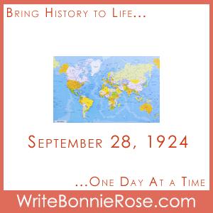 Timeline Worksheet, September 28, 1924, Around the World Flight Geography Worksheet