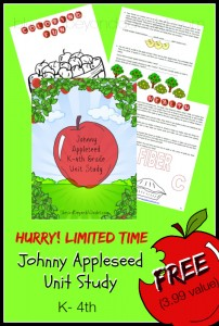 Johnny Appleseed Unit Study