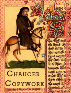 Geoffrey Chaucer Copywork