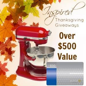 Inspired Bloggers Thanksgiving Giveaway