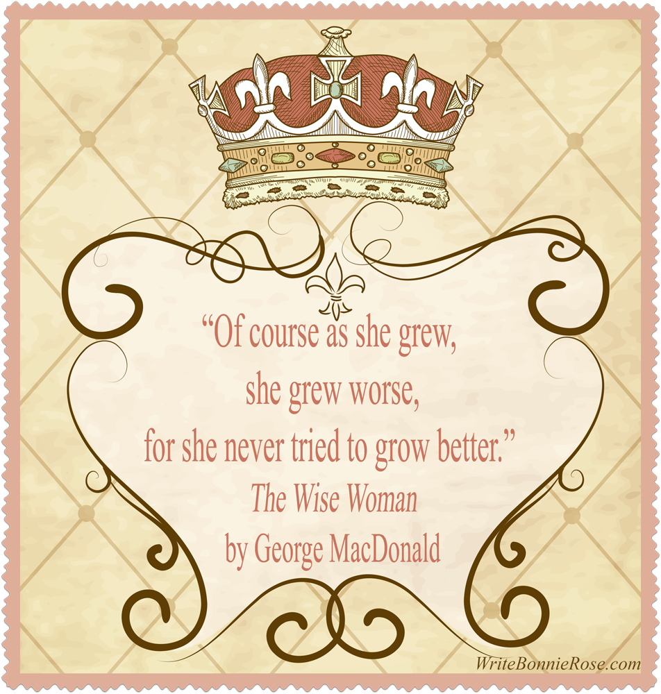 The Wise Woman Quote George MacDonald