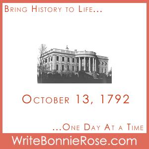 Timeline Worksheet October 13, 1792, White House Trivia