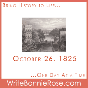 Timeline Worksheet: October 26, 1825, Erie Canal Game