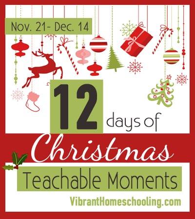 12 Days of Christmas Teachable Moments