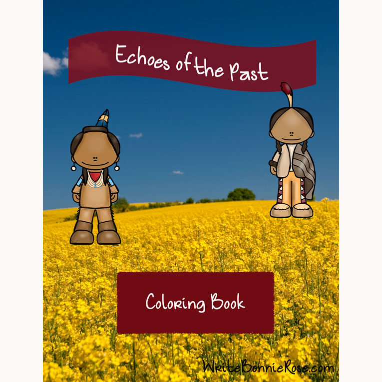 Echoes of the Past Coloring Book (e-book)