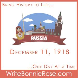 Timeline Worksheet December 11, 1918, Russian Timeline