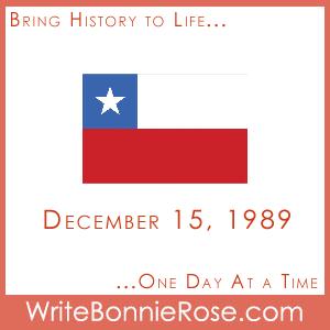 Timeline Worksheet, December 15, 1989, Chile