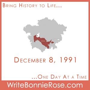 Timeline Worksheet December 8, 1991, Uzbekistan Constitution Day