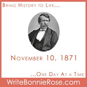 Timeline Worksheet November 10, 1871, David Livingstone