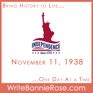 Timeline Worksheet: November 11, 1938, Patriotic Song Writing Prompt