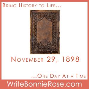 Timeline Worksheet, November 29, 1898, Works of C.S. Lewis Puzzle