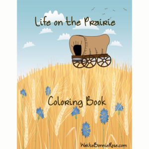 Life on the Prairie Coloring Book