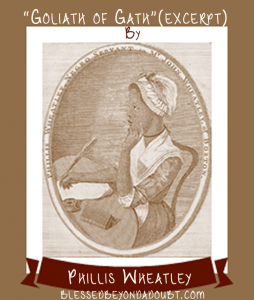 Phillis Wheatley Copywork and Timeline Roundup 1773