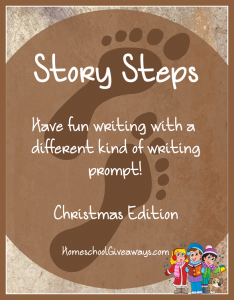 Free Writing Prompts-Story Steps Christmas Edition