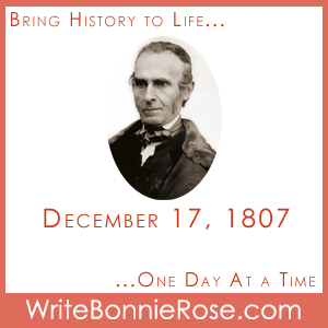 Timeline Worksheet: December 17, 1807, John Greenleaf Whittier