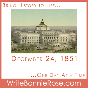 Timeline Worksheet: December 24, 1851, Fire at Library of Congress
