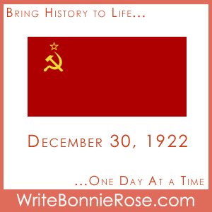 Timeline Worksheet, December 30, 1922, USSR established