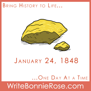 Timeline Worksheet, January 24, 1848, Gold Discovered