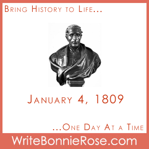 Timeline Worksheet, January 4, 1809, Louis Braille