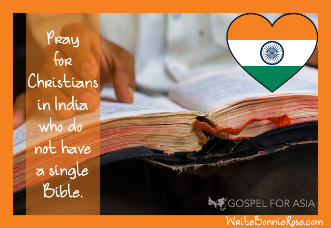 Pray for Christians in India Who Do Not Have Bibles