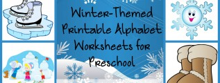 Free Winter-Themed Printable Alphabet Worksheets for Preschool