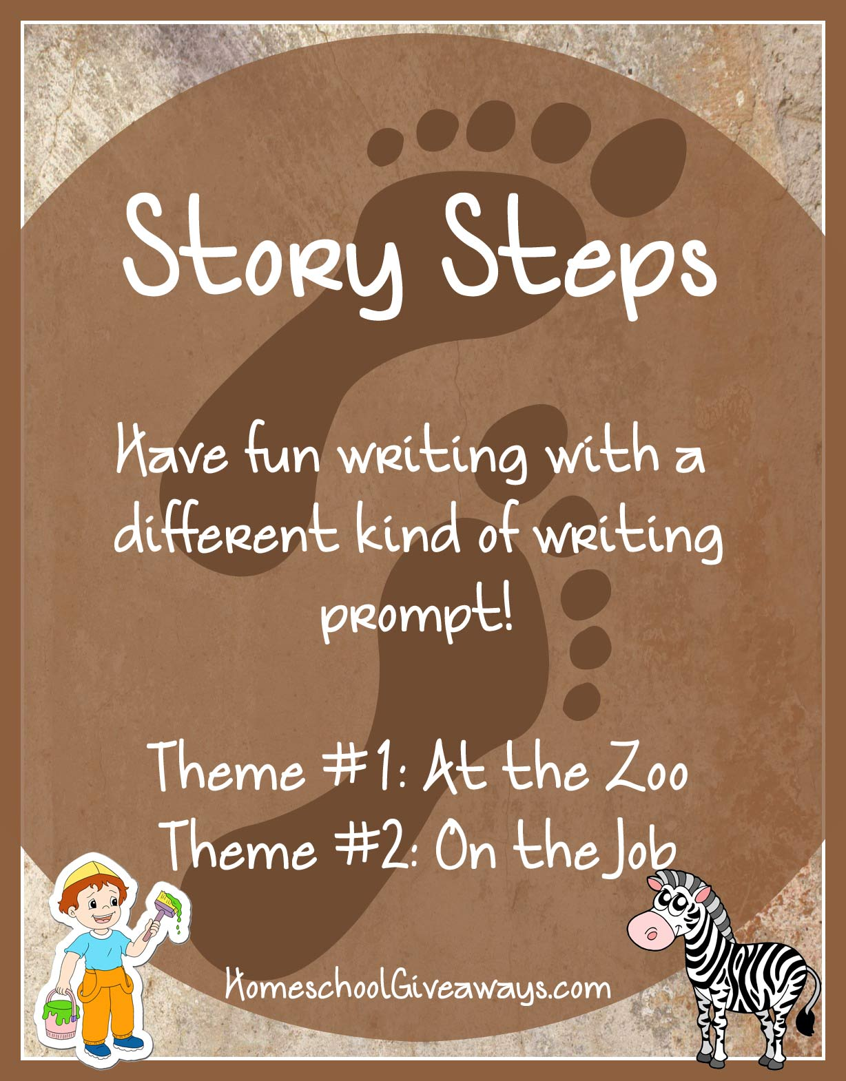 Free Writing Prompts – Story Steps At the Zoo and On the Job