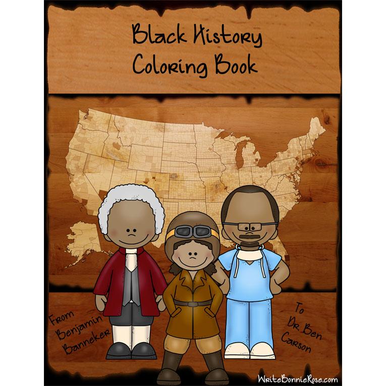 Black History Coloring Book (e-book)