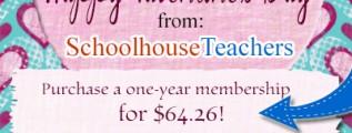 Save Over Half Off on Schoolhouse Teachers