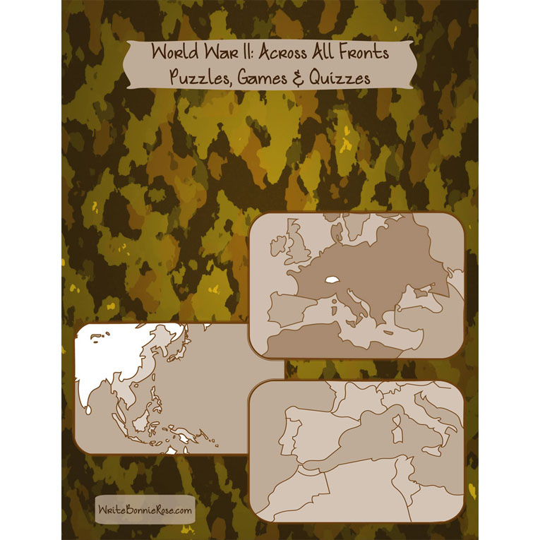 World War II: Across All Fronts-Puzzles, Games, and Quizzes (e-book)