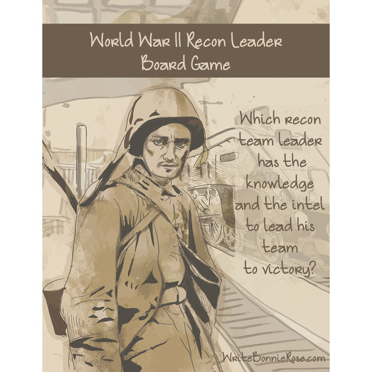 World War II Recon Leader Board Game (e-book)