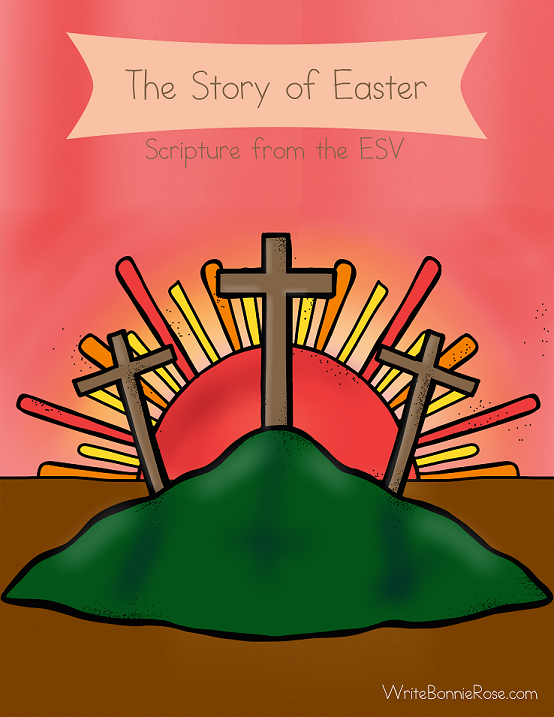 FREE-The Story of Easter Coloring Book