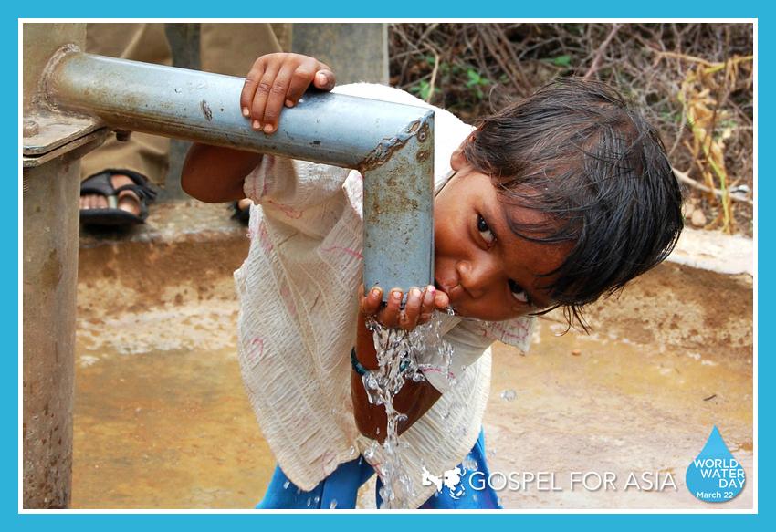 Gospel for Asia World Water Day