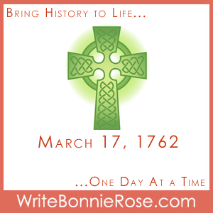 Timeline Worksheet: March 17, 1762, Irish Step Dancing Vocabulary
