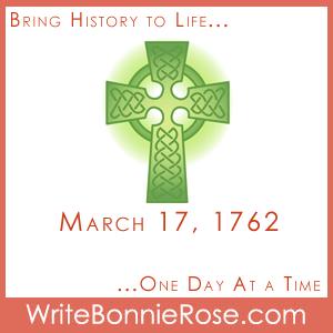 Timeline Worksheet, March 17, 1762, Irish Step Dancing