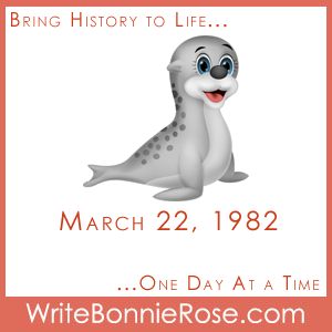 Timeline Worksheet, March 22, 1982, International Day of the Seal worksheets