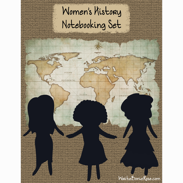 Women's History Notebooking Set (e-book)
