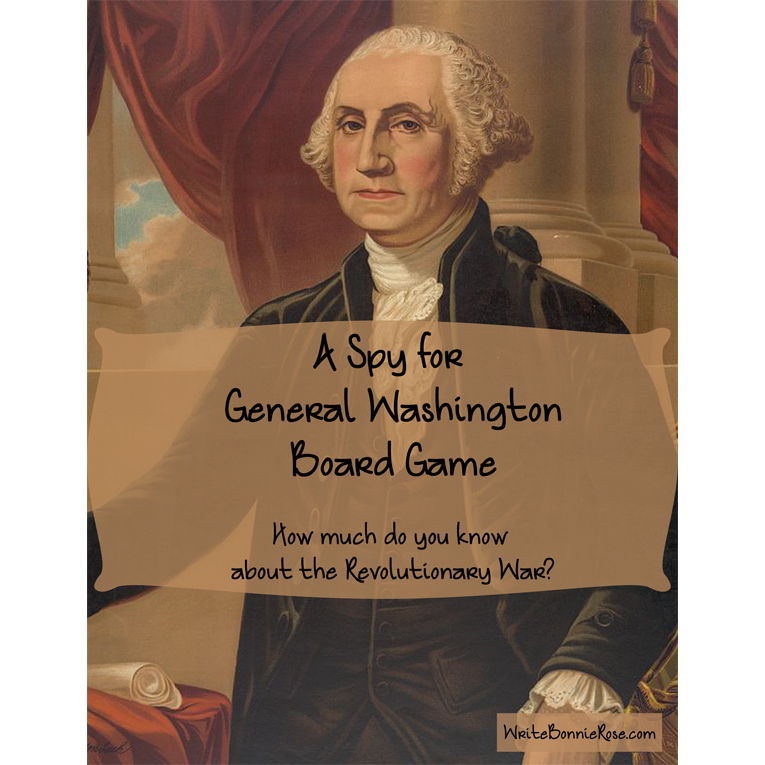A Spy for General Washington Board Game (e-book)