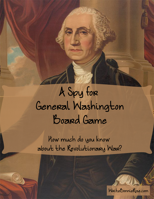 A spy for general washington board game for 10 40 window prayer points