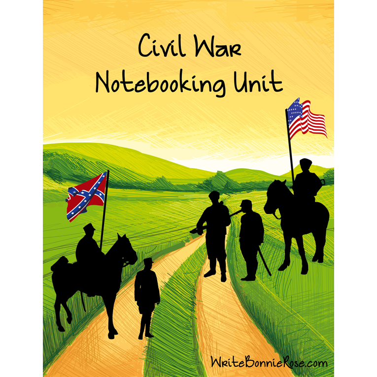 Civil War Notebooking Unit (e-book)