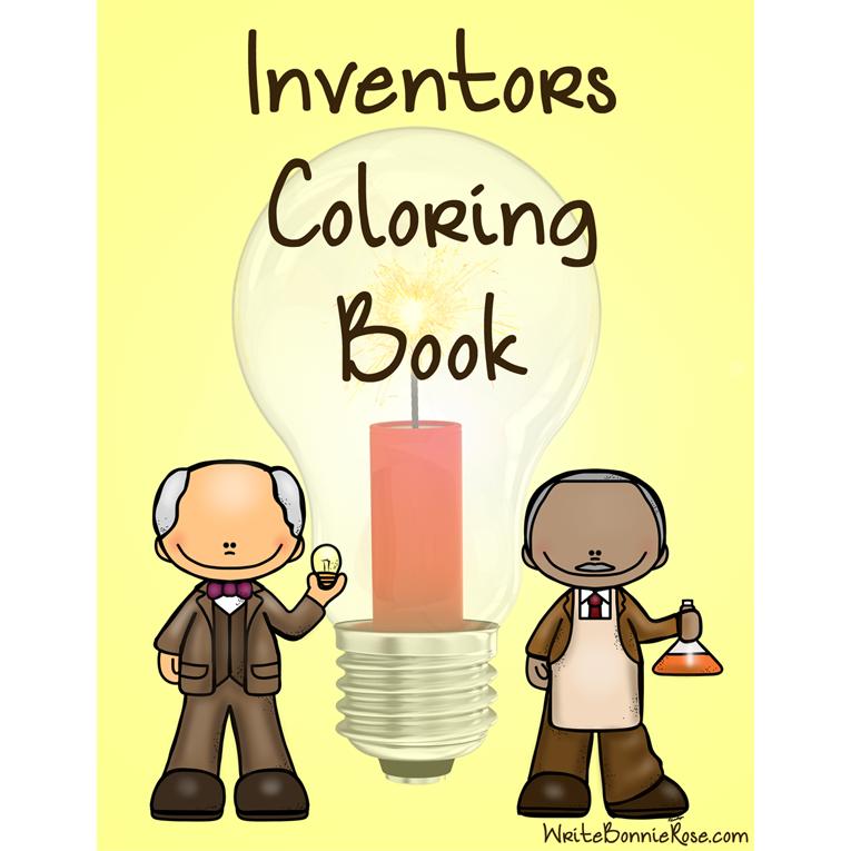 Inventors Coloring Book (e-book)