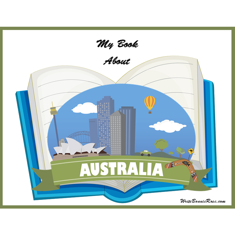 My Book About Australia (e-book)
