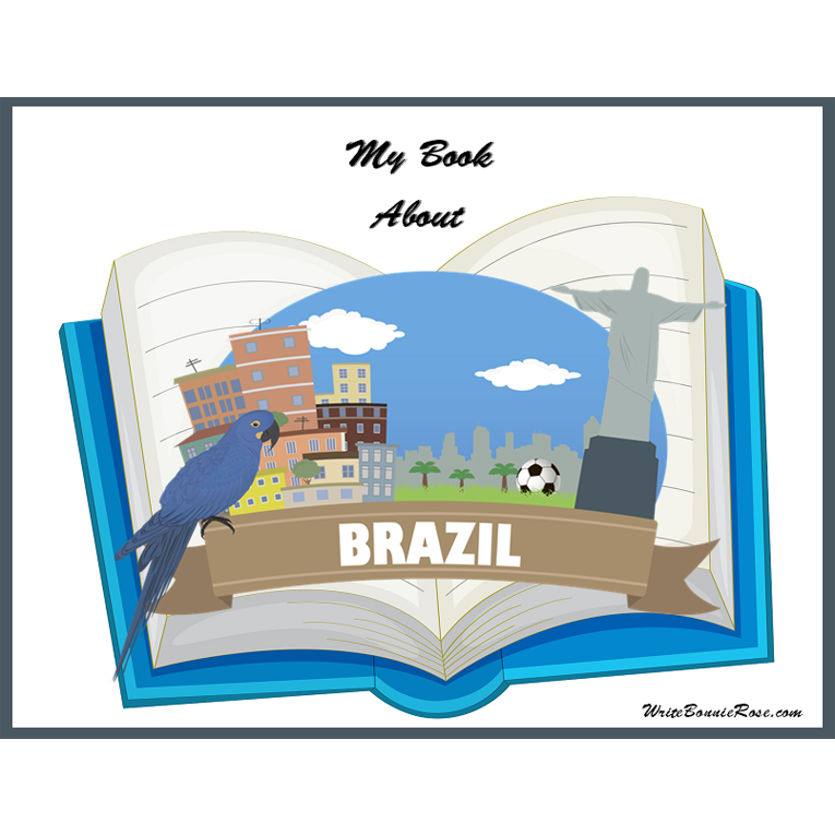 My Book About Brazil (e-book)