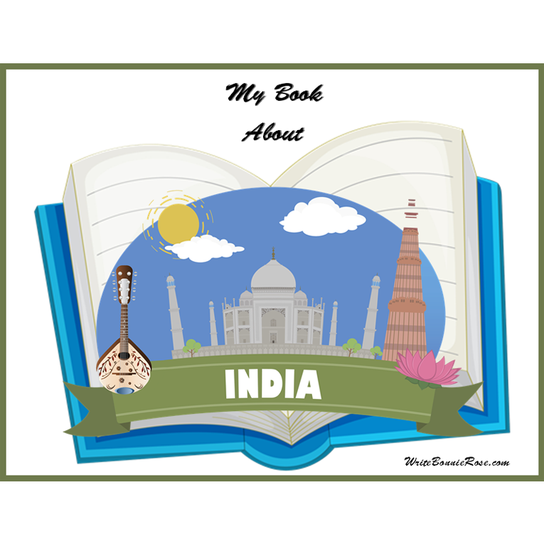 My Book About India (e-book)