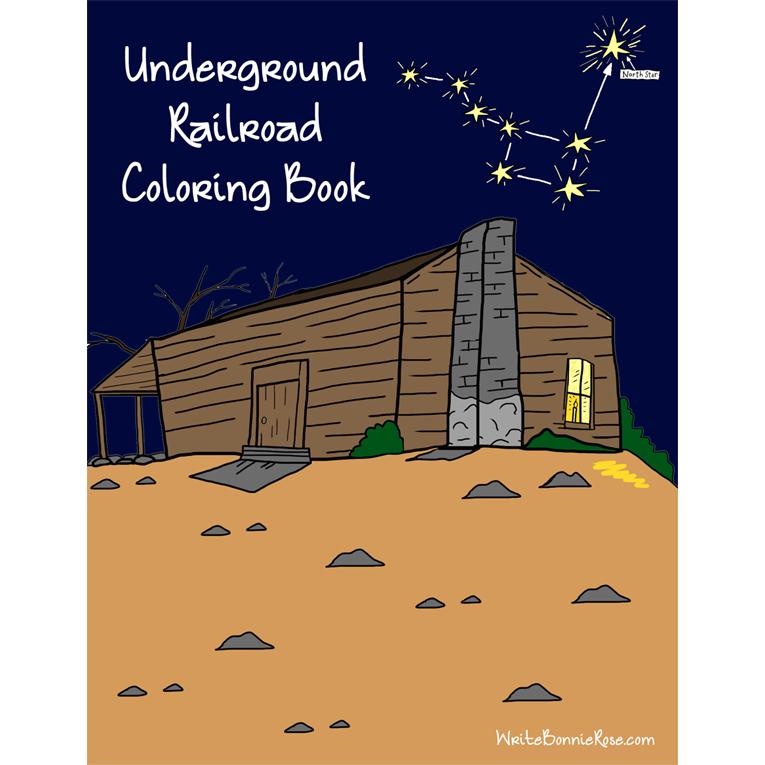 Underground Railroad Coloring Book (e-book)