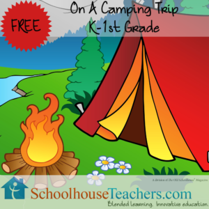 Free Homeschool Printable – On a Camping Trip