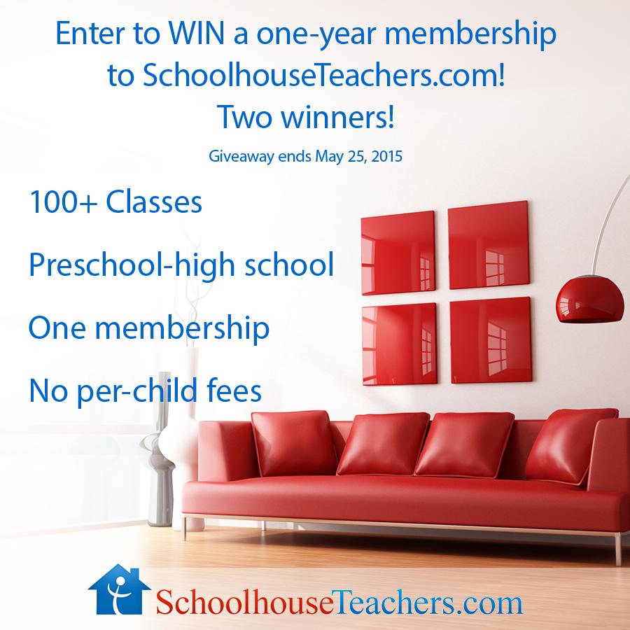 SchoolhouseTeachers Membership Giveaway