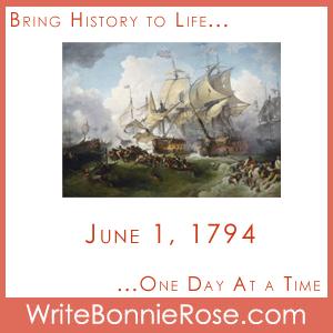 Timeline Worksheet June 1, 1794, French Revolution